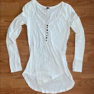 Women's Free People Long Sleeve Tee